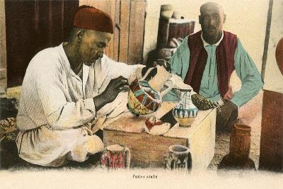 Arabic Potter--Art Print