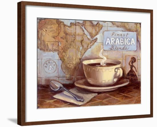 Arabica Blends-Theresa Kasun-Framed Art Print