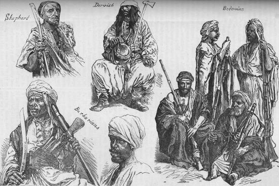 'Arabs of the Soudan', c1881-85-Unknown-Giclee Print