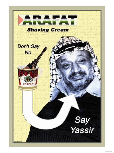 Arafat Shaving Cream--Art Print