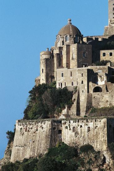 Aragonese Castle, Ischia, Campania, Italy--Giclee Print