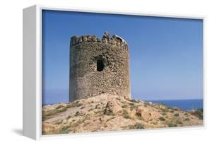 Aragonese Tower, 16th Century, Red Island, Sardinia, Italy