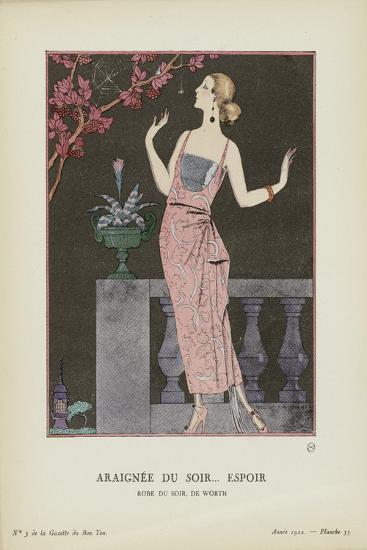 Araignee-Georges Barbier-Art Print
