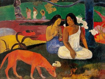 Arara (Jokes)-Paul Gauguin-Art Print