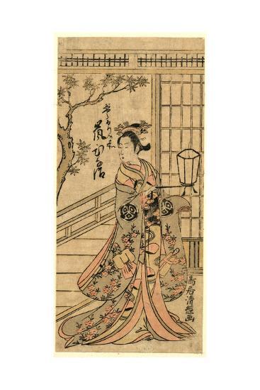 Arashi Hinaji No Jorurigozen-Torii Kiyotsune-Giclee Print