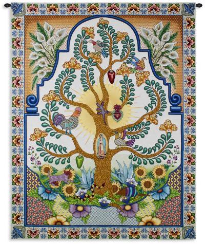Arboles de la Vida--Wall Tapestry