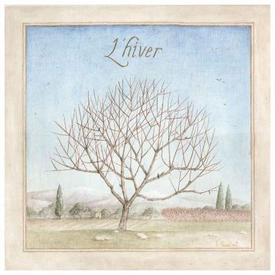 Arbre en Hiver-Vincent Perriol-Art Print