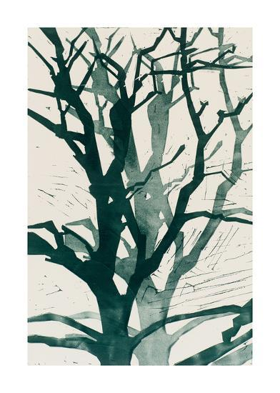 Arbres (Vert), 2015-Marie-Cecile Clause-Giclee Print
