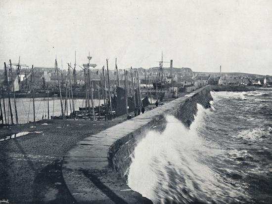 'Arbroath - From the Harbour', 1895-Unknown-Photographic Print