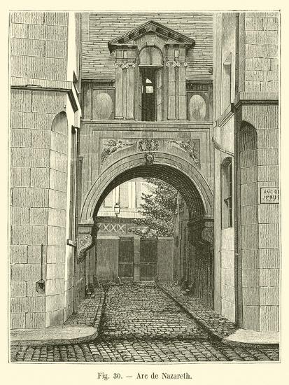 Arc De Nazareth--Giclee Print