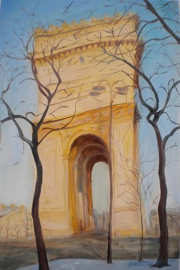 Arc De Triomphe, 2010-Antonia Myatt-Giclee Print