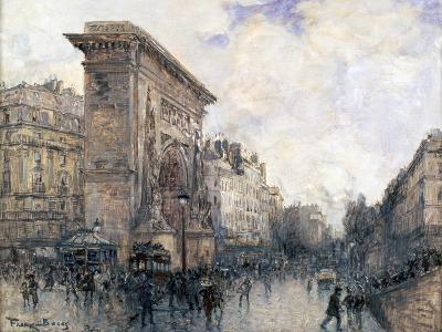 Arc De Triomphe De La Porte St-Denis, Paris, C1875-1926-Frank Myers Boggs-Giclee Print