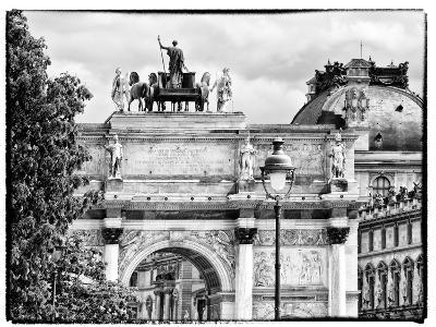 Arc De Triomphe du Carrousel, the Louvre Museum, Paris, France-Philippe Hugonnard-Photographic Print