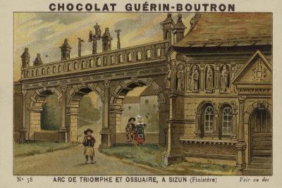 Arc De Triomphe Et Ossuaire, a Sizun, Finistere--Giclee Print