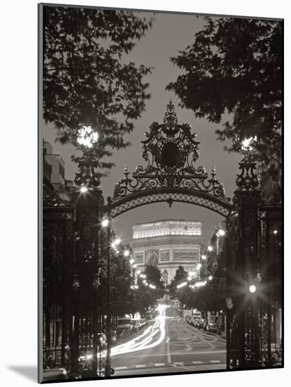 Arc de Triomphe, Paris, France-Peter Adams-Mounted Photographic Print