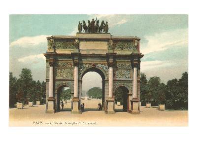 Arc de Triomphe, Paris, France--Art Print
