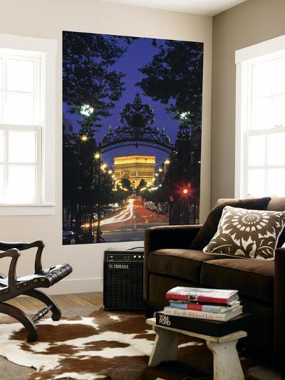 Arc de Triomphe, Paris, France-Peter Adams-Giant Art Print
