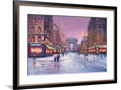 Arc de Triomphe-Guy Dessapt-Framed Giclee Print
