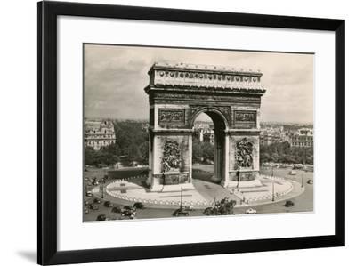 Arc De Triomphe-Alan Paul-Framed Art Print