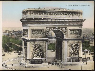 Arc De Triomphe--Photographic Print