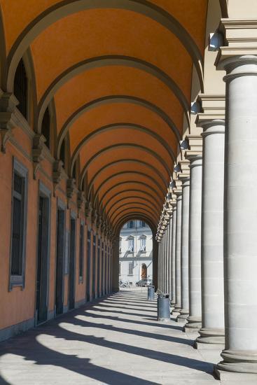 Arcade at Piazza Della Liberta', Firenze, UNESCO, Tuscany, Italy-Nico Tondini-Photographic Print