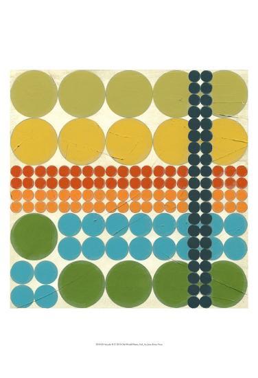 Arcade II-Erica J^ Vess-Art Print