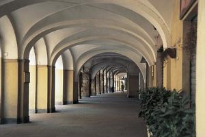 Arcade of a Building, Chivasso, Piedmont, Italy