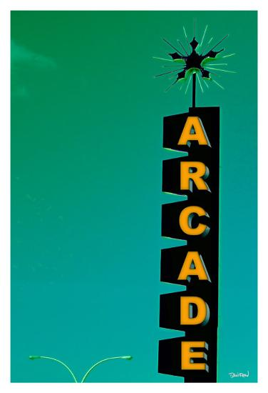 Arcade-Pascal Normand-Art Print