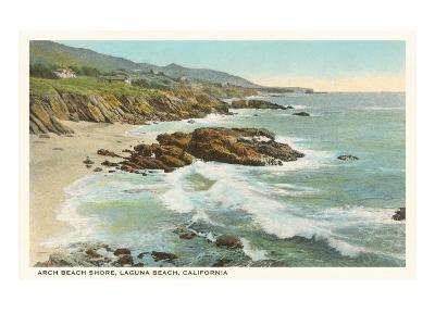 Arch Beach, Laguna Beach--Art Print