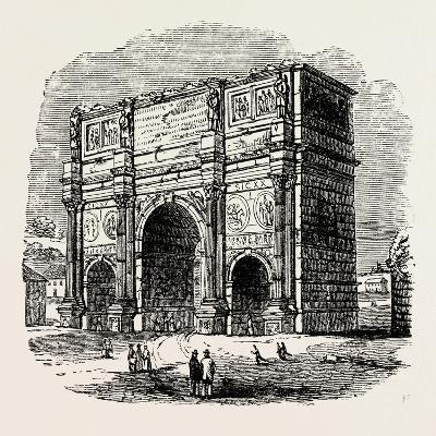 Arch of Constantine, Rome, Italy--Giclee Print