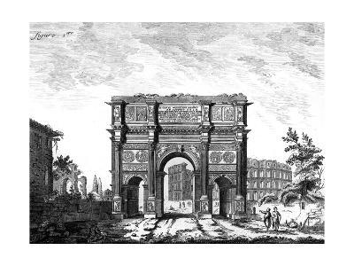 Arch of Constantine, Rome--Giclee Print