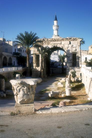 Arch of Marcus Aurelius, Tripoli, Libya, 163 Ad-Vivienne Sharp-Photographic Print
