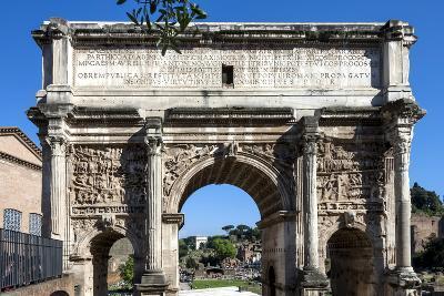 Arch of Septimus Severus, Ancient Roman Forum, Rome, Lazio, Italy-James Emmerson-Photographic Print