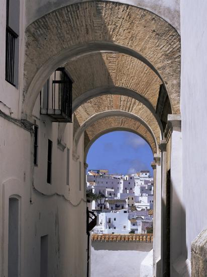 Arch of the Monjas, Vejer De La Frontera, Andalucia, Spain-Jean Brooks-Photographic Print