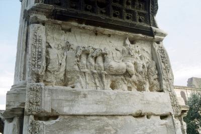 Arch of Titus, Forum, Rome, C81--Photographic Print