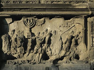 Arch of Titus on the Forum in Rome--Giclee Print