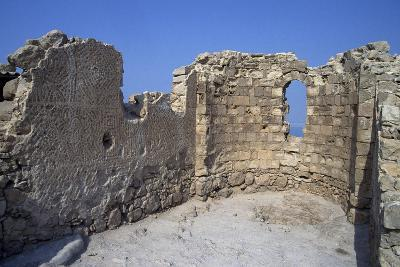 Archaeological Remains of Masada--Photographic Print