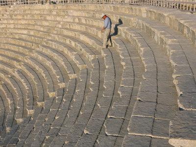 Archaeological Site, Jerash, Jordan, Middle East-Alison Wright-Photographic Print