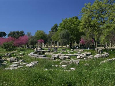 Archaeological Site of Olympia, Birthplace of the First Olympic Games in 776 BC, Greece-Gavin Hellier-Photographic Print