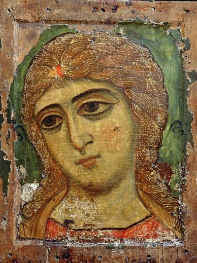 Archangel Gabriel (Angel with Golden Hair) Russian Icon, 12th Century--Giclee Print