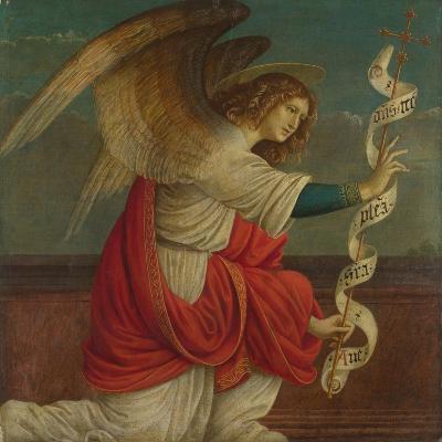 Archangel Gabriel (Panel from an Altarpiece: the Annunciatio), before 1511-Gaudenzio Ferrari-Giclee Print