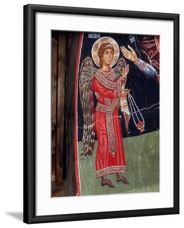 Archangel Michael, 1494-Philippos Goul-Framed Giclee Print