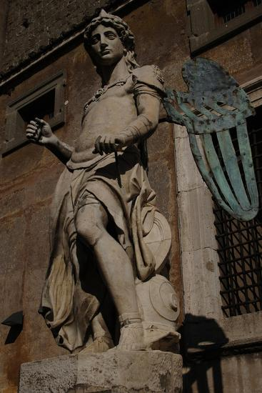 Archangel Michael, 1544-Raffaello da Montelupo-Giclee Print