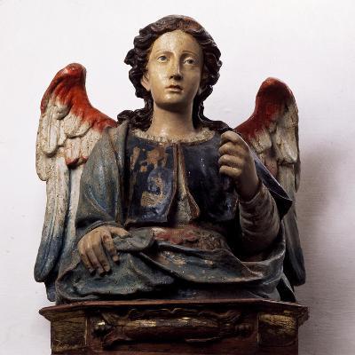 Archangel Michael, Wooden Sculpture--Giclee Print