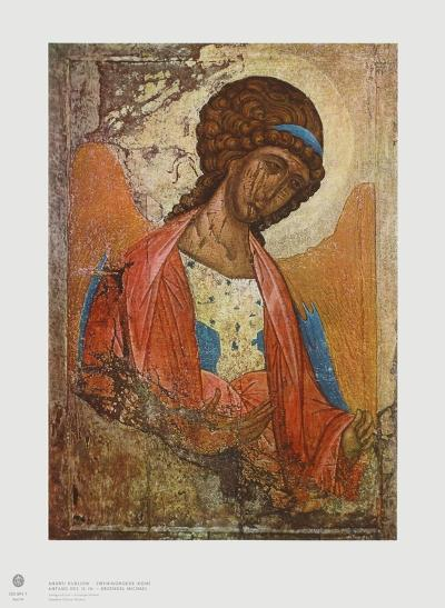 Archangel Michael-Andrei Rubljew-Collectable Print