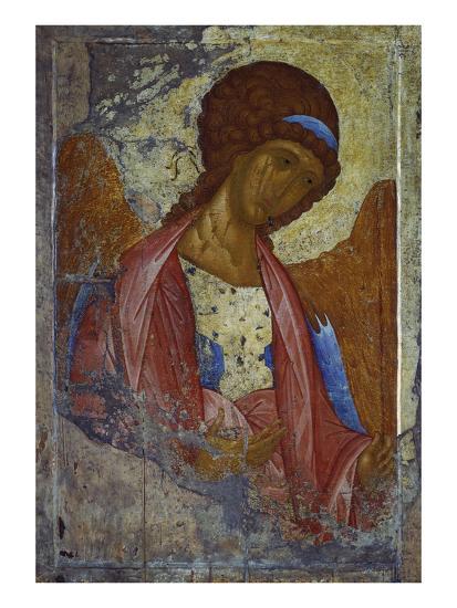 Archangel Michael-Andrei Rubljew-Giclee Print