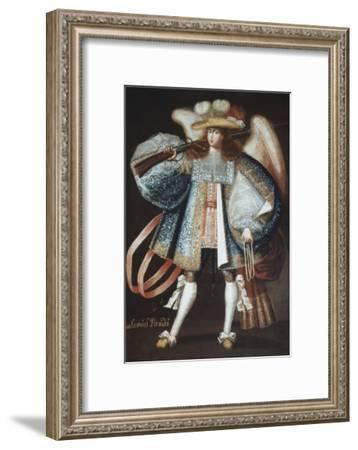 Archangel with Musket--Framed Giclee Print