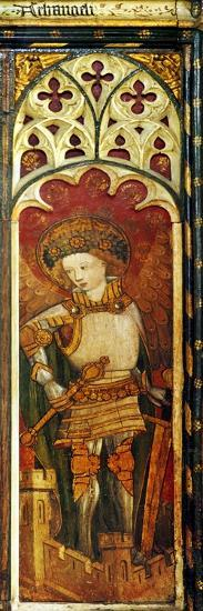 Archangels, One of the Nine Orders of Angels, Inferior Hierarchy, Detail of the Rood Screen, St.…--Giclee Print