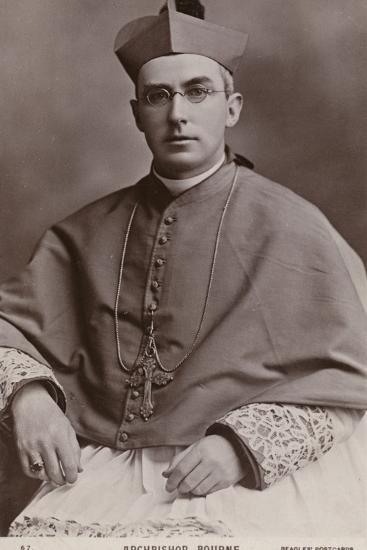 Archbishop Francis Bourne--Photographic Print