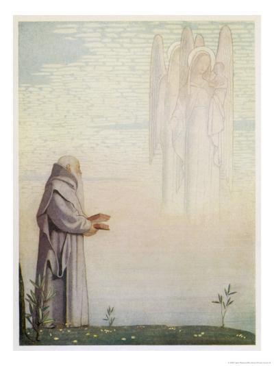 Archbishop of Canterbury Saint-Cayley Robinson-Giclee Print
